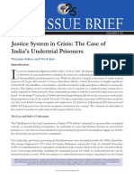 Crisis in the Justice System the Case Of