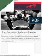 Dieta Cetogénica y Rendimiento Deportivo ⋆ Fitness Revolucionario