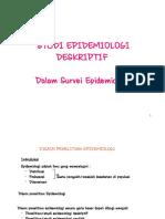 Studi Epidemiologi Deskriptif (Survei Epid)