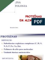 Bromatologia - Proteínas Em Alimentos
