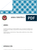Anemia Ferropénica