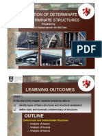 WEEK 1 - Introduction of Determinate and Indeterminate Structure