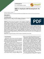 7.Strategic Role Employee Skill Development