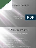 Manajemen Waktu-KBK