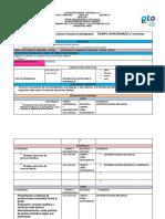 Formato de Planeación Baron y Morales