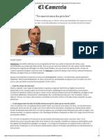 """CEO de Inkafarma_ _No Moveremos Los Precios"""" _ Economía _ El Comercio Perú"""