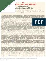Chapter 6 Section 5. - John 6_36, 40