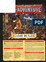 Talisman 3rd Edition - City of Adventure - Rules