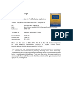 Bio-nanocomposites for Food Packaging Applications-1