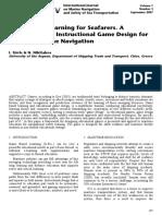 Game Based Learning for Seafarers. A Framework for Instructional Game Design for Safety in Marine Navigation.pdf