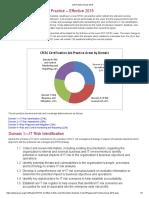 CRISC Job Practice Areas 2015