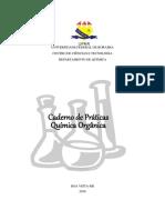 Caderno de Práticas Organica Experimental 2018