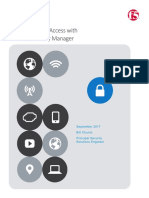 F5 Privileged User Access With F5 Access Policy Manager F5GS   APM