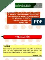 CURSO VALIDACION