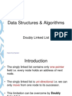 DS - Doubly Linked List
