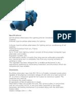 Alternator Details (1)