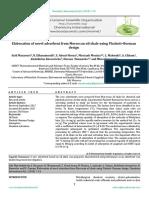 Elaboration of novel adsorbent from Moroccan oil shale using Plackett–Burman design