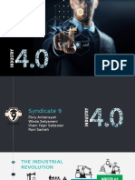 Syndicate 9 - Industry 4.0