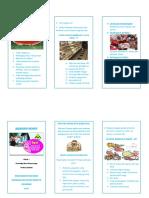 Leaflet Jajanan Sehat