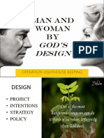 Man and Woman by God's Design. Edited Ppt