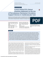 2015 SCAI ACCHF SASTS Mechanical Support Devices