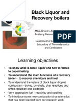 Black Liquor and Recovery Boilers 2016