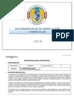 Modelo Unidad Didáctica 2019