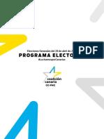 Programa Electoral Coalición Canaria