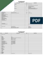 0. Master Equipment List