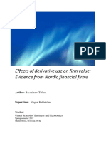 Effects of derivative use on firm value Evidence from Nordic financial firms.pdf