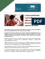 Informazioni Sulla Salute Cancro Al Seno Editione28