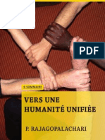 Vers une humanité unifiee 101023