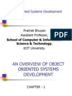 Ch-1( Oosd)- An Overview of Object Oriented Systems Development (1)