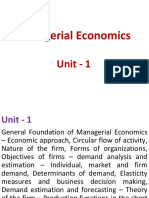 Managerial Economics_Unit 1-1