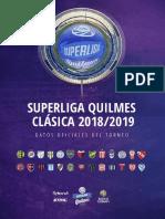Informe y estadísticas de la Superliga