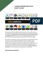 Cómo Crear Tu Propia Distribución Linux Personalizada Paso a Paso