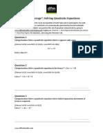 DFMFullCoverage-SolvingQuadraticEquations