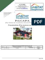P.G.C.S.P.S. d'Une Construction en Bois