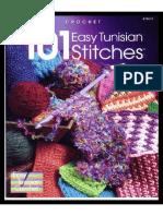 101 Easy Tunisian crochet stitches