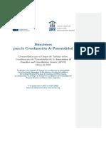 Fariña. AFCC Directrices Para La Coordinación de Parentalidad