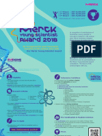 Merck Young Scientist Award 2018 Brochure