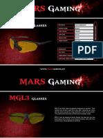 Mars Gaming. Gafas Mgl3. Ficha En