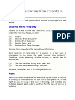 Tax on Rental Income From Property in Pakistan