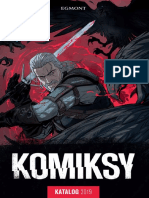 Egmont Katalog Komiksy 2019