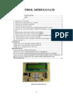 Control de Módulo LCD