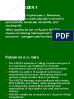 Quality Improvement Kaizen