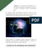 Las Funciones Cognitivas
