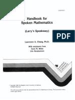 E Book Handbook for Spoken Mathematics.pdf