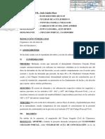 Exp. 1130-2018 ADMITE Nulidad de Acta Conciliacion