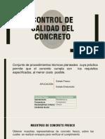 CONTROL CALIDAD DEL CONCRETO